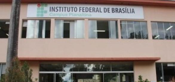 O campus de Planaltina é uma das unidades com vagas abertas para os cursos técnicos grátis.
