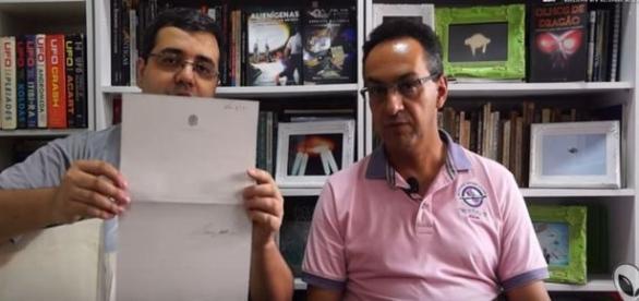 Pesquisadores revelam documentos exclusivos sobre investigações de ovnis pela FAB (Josef David S. Prado/Edison Boaventura Jr.)