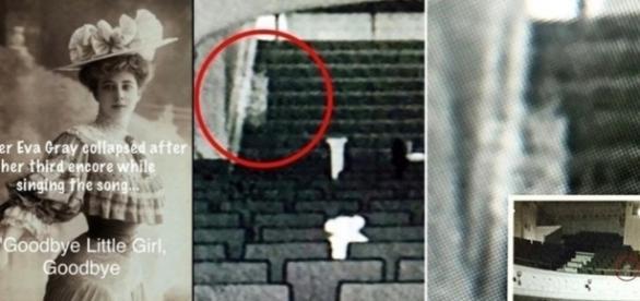 A aparição da mulher de branco foi registrada por caçadores de fantasmas e de evidências paranormais