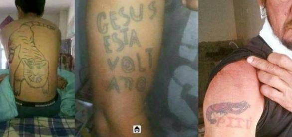 As piores tatuagens que um ser humano pode fazer.