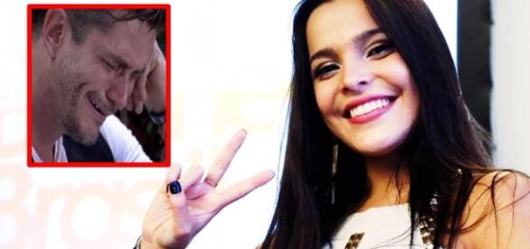 Emilly descarta romance com Marcos