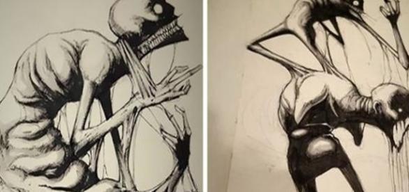 Essas imagens revelam como sentem-se pessoas que sofrem de doenças mentais.