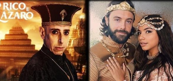 'O Rico e Lázaro': Evil-Merodaque desmaia na hora do seu casamento