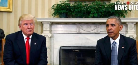 VIDEO: Trump, Obama sit down in historic White House meeting - NY ... - nydailynews.com