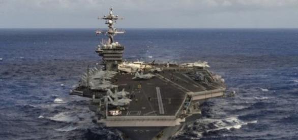 EEUU despliega buques de guerra frente a Corea del Norte -