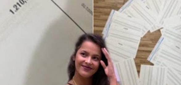 Fã de Emilly gasta R$ 1.210,76 votando nela