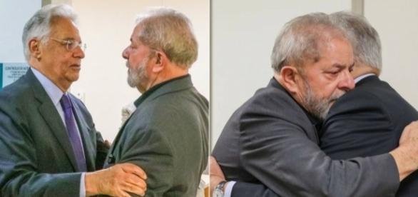 Interlocutores dos ex-presidentes Lula e FHC, tentam agendar encontro entre os dois, para debater a atual crise política