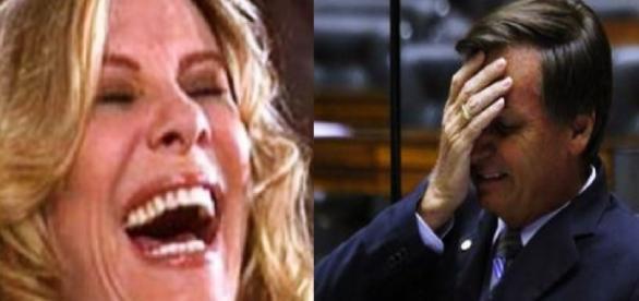 Nazaré fala de Bolsonaro - Imagem/Google
