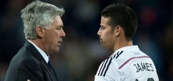 Real Madrid: Le précieux conseil d'Ancelotti à James Rodriguez