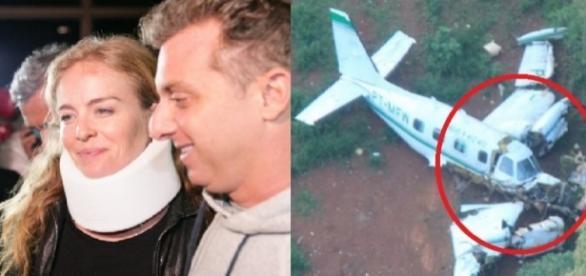 Angélica volta a falar sobre queda de avião