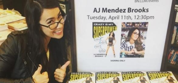 Crazy is my superpower, Aj's book