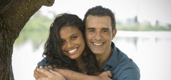 Imagem: Joana e Ricardo na novela 'Malhação'
