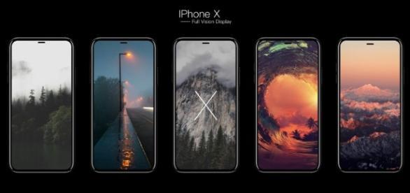iPhone 8 avrà un display gigante