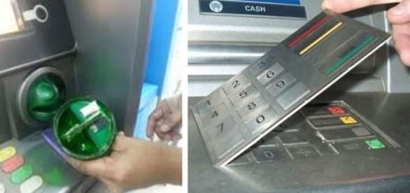 Caixas Eletrônicos modificados por criminosos