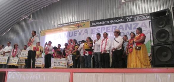 Este movimiento no es de candidaturas, eso lo ven partidos políticos, dice René Bejarano