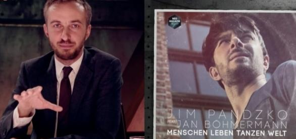 "Jan Böhmermann erobert mit ""Menschen Leben Tanzen Welt"" die Charts / Fotos: ZDF, twitter.com"