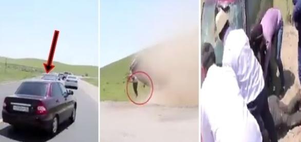Motoristas tentaram socorrer a vítima.