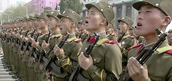 North Korea Denounces US, Displays Massive Military Might - voanews.com