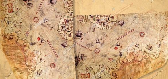 Ottoman Admiral Piri Reis Map – Stock Photos - Royalty Free Photos ... - photos5.com