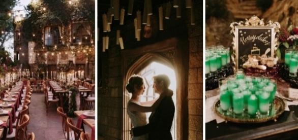 Casamento temático de Harry Potter vai encantar você. Fotos: Nirav Patel.