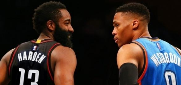Game two between the Thunder and Rockets will surely be something worth watching/Photo via gq.com