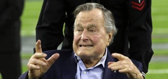 George H. W. Bush hospitalized again with pneumonia – Las Vegas ... - reviewjournal.com