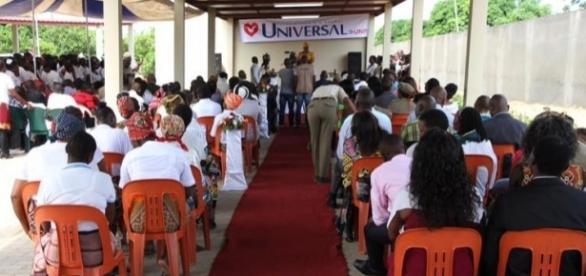 Igreja Universal casa detentos em Moçambique (Foto: Igreja Universal Moçambique/ Divulgação)