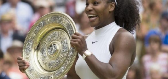 La bellissima campionessa di tennis