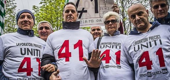 Precoci su Roma e Pensione anticipata 2017