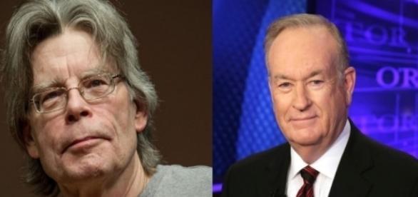 Stephen King, Bill O'Reilly, via Twitter