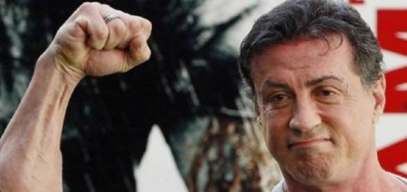 Sylvester Stallone é bem conhecido pelos seus filmes de durão