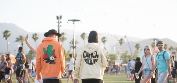 Vintage-looking merch is all the rage at this year's Coachella/Photo by Jose Negrete, courtesy of Coachella