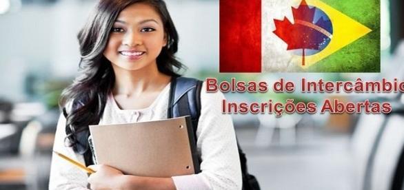 Bolsas de estudo no Canadá com inscrições abertas