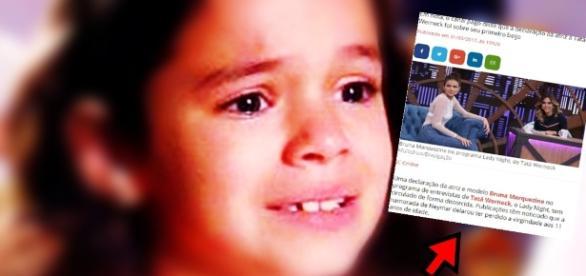Documento revela que Bruna perdeu apenas BV aos 11 anos