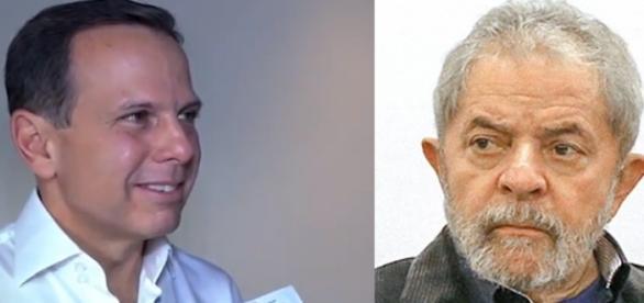 João Doria falou sobre o PT e sobre Lula em discurso para empresários (Foto: Reprodução)