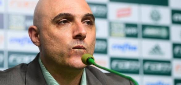 Maurício Galiotte é o atual presidente do Palmeiras