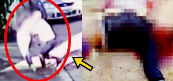 Pai flagra tarado tentando estuprar sua filha e dá lição inesquecível; vídeo