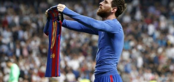 Barcelona 3-Real Madrid 2: La camiseta de Messi – Español - nytimes.com