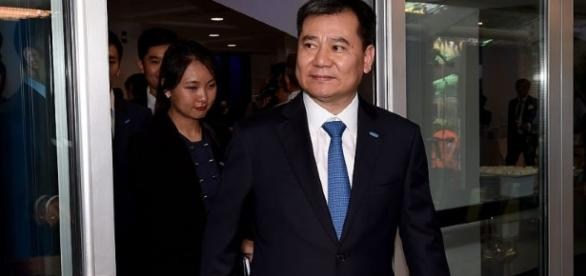 Il patron dell'Inter, Zhang Jindong