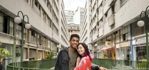 Juan Paiva e Ana Hikari em Malhação