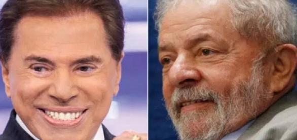 Lula e Silvio Santos tiveram encontro polêmico - Google