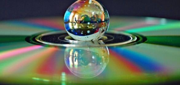 Marble sitting in a DVD hole - CC/Flickr Image by Andy von der Wurm