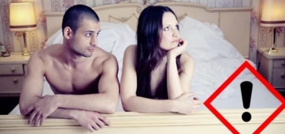 Os homens pensam e logo agem, acham que a mulher é como ele, que pensa em sexo e logo está fazendo