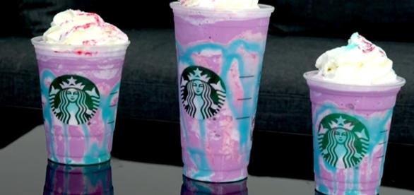 The new Unicorn Frappuccino from Starbucks has gotten consumers scratching their head. (via YouTube/iJustine)