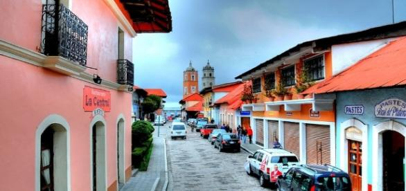 Calle del centro de Real del Monte (http://turespacio.com)