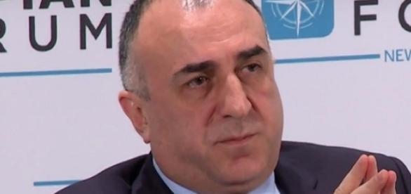 il ministro azero Elmar Mammadyarov