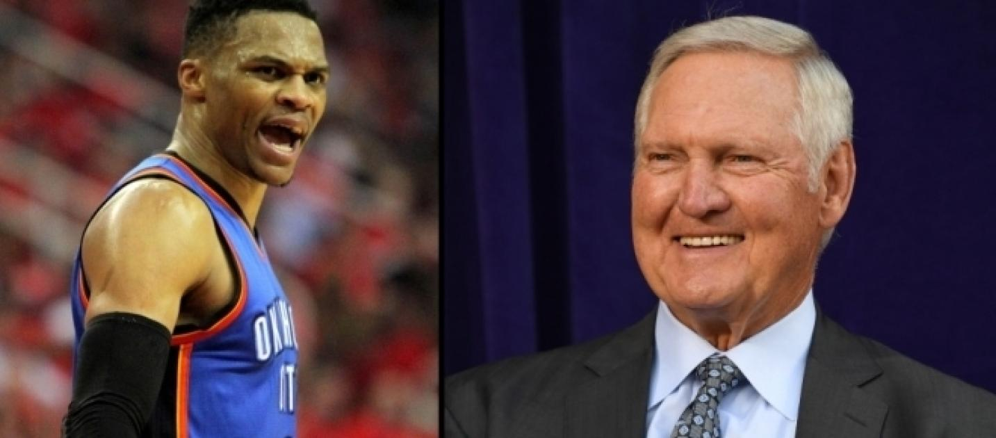 Jerry West pares Russell Westbrook to Michael Jordan