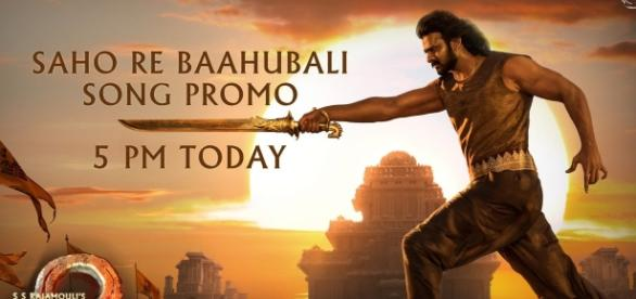 A still of Prabhas from Baahubali2 movie