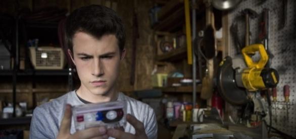 Dylan Minette dans le rôle de Clay Jensen dans 13Reasons Why
