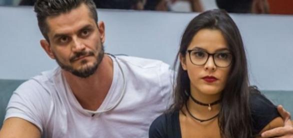 Em carta aberta, ex-BBB Marcos Harter acusa Emilly de armação (Foto: Reprodução/TV Globo)